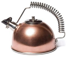 Genesis waterkettle, manufactured in Italy from Serafino Zani and sold by David Mellor Design in U.K.