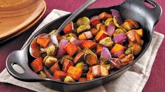 Roasted Fall Vegetables... This recipe is the perfect side dish for a fall meal.