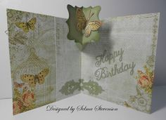 Selma's Stamping Corner and Floral Designs: Pop Up Cards