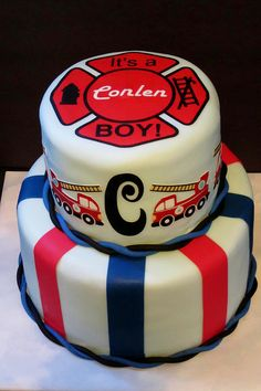 Fireman Cake for little boy.