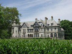 "Carey Mansion, Newport, Rhode Island -Setting for TV's ""Dark Shadows"" series..."