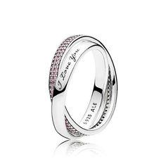 Sweet Promise Ring, Pink CZ   PANDORA Jewelry US. - 56 #pandorajewelry