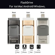 32GB i-Flash Drive USB Memory Stick HD U-Disk 3 in 1 for Android/ios iPhone PC. - http://electronics.goshoppins.com/ipads-tablets-ebook-accessories/32gb-i-flash-drive-usb-memory-stick-hd-u-disk-3-in-1-for-androidios-iphone-pc/