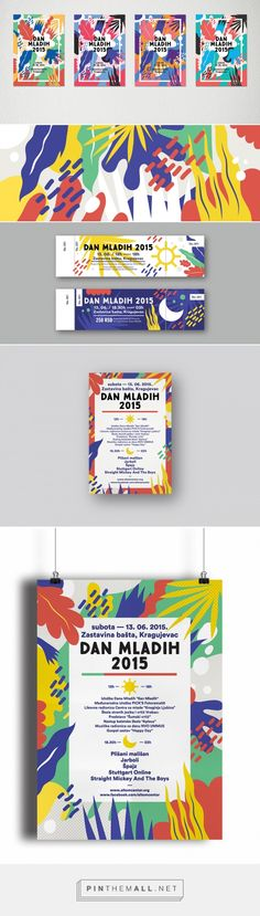[Inspirations editoriales] - Illustration et identité ✣ Dan Mladih 2015 BY Monika Lang #affiche colors