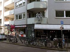 STREETART Belgisches Viertel Köln I Maastrichter Straße, Brüsseler Platz , Bismarckstraße , Antwerpener Straße, ... I *Mark Jenkins