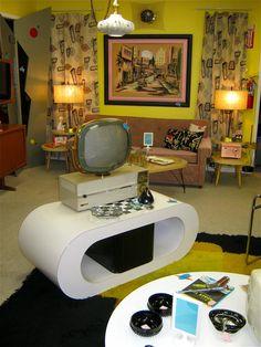 Atomic living room