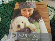 Knitting Pattern Book - Marlowe By Susan Gibbs -7 Patterns By Marie Grace Smith-Scarves, Cowls, Shawl, Hat, Mitts, Wrap, Infinity Scarf, Hat by MillersHollowGifts on Etsy