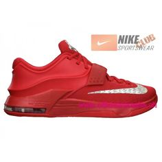 Nike KD VII/7 Chaussures Nike BasketBall Pas Cher Pour Homme Action Rouge/Metallic Argent 653996-660,Nike KD VII,Nike KD 7,Nike KD VII Pas Cher,Nike KD 7 Pas Cher,Officiel Nike KD VII 92,99�