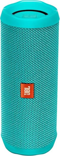 JBL - Flip 4 Portable Bluetooth Speaker - Teal (Blue)