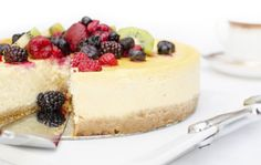 There's nothing that says summertime like an Irish cheesecake served with fruit and so we have the perfect recipe.