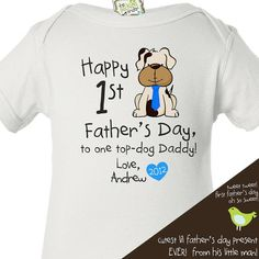 father's day shirt from baby  great  first father's by zoeysattic, $16.50 for jason June 2013