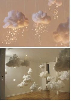 Dekor Artificial clouds, # artificial ideas baby A Healthcare Age Baby Shower Themes, Baby Shower Decorations, Wedding Decorations, Cloud Baby Shower Theme, Ideas For Baby Shower, Shower Ideas, Cloud Decoration, Baby Party, Backdrops