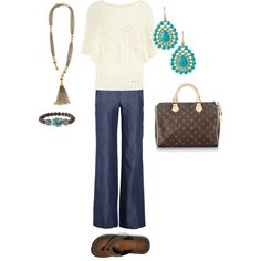 """""""Untitled #1"""" featuring Clarks Flip Plymouth by julielynn2442 on Polyvore"""