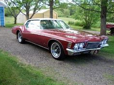 1971 Buick Riviera.  This will be a part of my car collection someday.