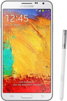 Samsung Galaxy Note 3 Neo White SM-N7507 16GB Factory Unlocked International Version No Warranty - For Sale