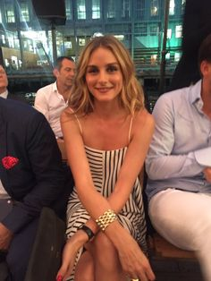 Olivia Palermo at Tommy Hilfiger Women's Fashion Show September 9, 2016