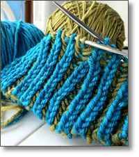 Introduction to Brioche Knitting taught by Mercedes Tarasovich-Clark ~ please see my board for other videos plus the cast on and off for this stitch.... Apologies for this one which the owner has taken down!!