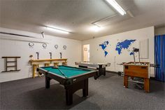 Pool Table At Orlando Primrose Villa - Do you love to play ?