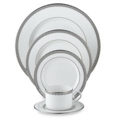 Top 20 Bed Bath & Beyond® Wedding Registry Gifts: Lenox® Lace Couture Fine China - BedBathandBeyond.com