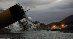Costa Concordia, off the coast of Giglio, Italy