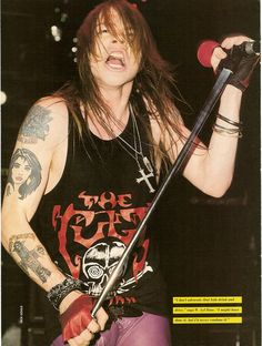 Axl Rose, late '80s