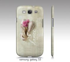 phone case Sumsung galaxy or iphone4-4s Dance,ballet, point shoes,photograph,quote. $35.00, via Etsy.