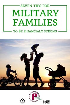 In honor of our Military families. Their finances shouldn't add to all the other stress that comes with the job. Here are seven ways to improve your finances and reduce the stress!