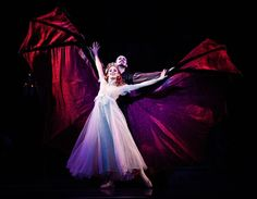 Ballet West's Dracula ~ want to go see a performance of this show! I would be happy seeing this put on by any good ensemble, but I hear the one closest to me, which is the Atlanta Ballet, is quite stunning.
