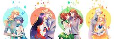 Image result for sailor moon crystal nephrite and jupiter