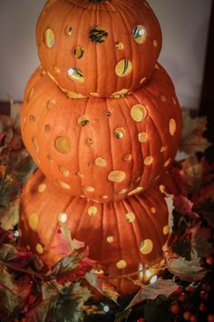 Clinton's how-to make a pumpkin topiary #thechew