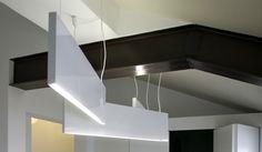 THIN steel lamp. KALIMERA. Reggio emilia. Design by AMORFO STUDIO