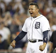 """MIGGY!!!!  """"Detroit Tigers' Miguel Cabrera finally enjoys being himself (Free Press article)."""""""