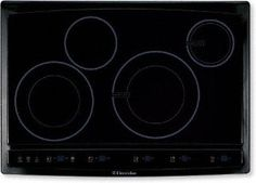 """30"""" 4 Burner Induction Hybrid Cooktop with 3,400 Watt Maximum and Ceramic Glass Cooking Surface"""