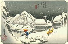 Hiroshige - Kambara