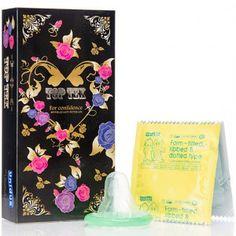 [유니더스] 2가지 색상의 톱텍스 콘돔 1박스 (10p) www.joynjoy.com