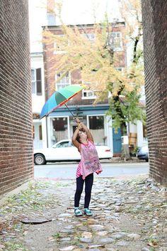 child photography, umbrella, ©Misty Exnicios