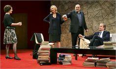 Marcia Gay Harden, Hope Davis, James Gandolfini, and Jeff Daniels - Broadway Production.