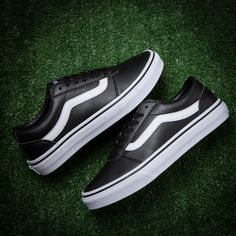 5e7cd2488ff Vans Old Skool Black White Skate Shoe  Vans Old Skool Black