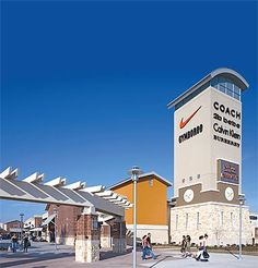 Open mall- you have to walk outside to get to the different stores, it's gorgeous when the day is sunny
