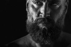 #gurusays #selfie #zeus #greek #eyes #beard #vsco #b&w