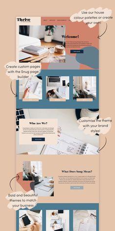 Layout Design, Interaktives Design, Design De Configuration, Site Web Design, Design Food, Website Design Layout, Web Layout, Logo Design, Website Designs