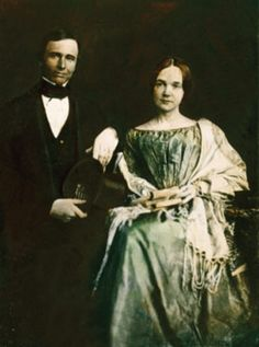 James and Mary Chesnut, her diary of the Civil War would be the orginal blog of the 1860's........She was from Charleston, SC.