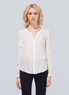 bergen blouse, aritzia