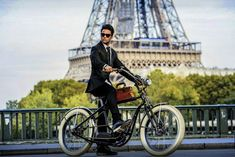 Twitter Electric Bicycle, High Class, New Experience, French, Paris, Twitter, Electric Push Bike, Montmartre Paris, French People