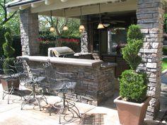 Outside Bar by Flying Turtle Cast Concrete