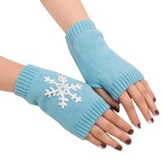 Apparel Accessories Collection Here Nibesser Long Womens Bracelet Gloves Fingerless Women Winter Warm Knitted Half Finger Gloves Female Fashion Gloves Woolen Yarn