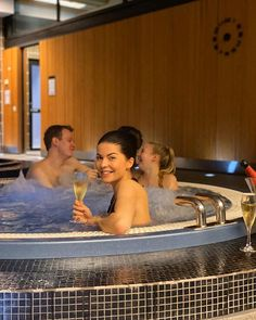 @ttarulaine Bubbles with babes 🥂   Långvik Congress Wellness Hotel Instagramissa • Kuvat ja videot Traditional Saunas, Steam Sauna, Infrared Sauna, Wellness Spa, Sports Activities, Jacuzzi, Seaside, Bubbles, Gym