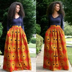 Exclusive Melange Mode Maxi Skirt by MelangeMode on Etsy, $130.00