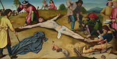 Christ Nailed to the Cross by Gerard David