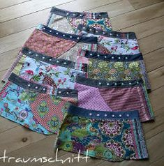 sewing pattern: wrap skirt